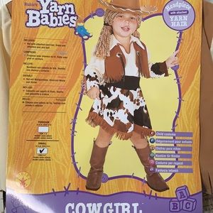 NWT Cowgirl Halloween Dress Up Costume Size Small